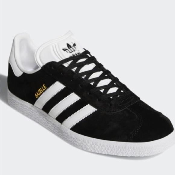 Mostrarte Horror Automáticamente  adidas Shoes | Black Gazelle Size 8 Female | Poshmark